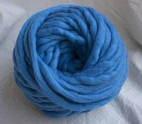 Толстая пряжа ручного прядения 100% шерсть (обработана) фаянс