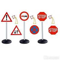 Транспорт BIG Набор Дорожные знаки Traffic 69 см (1195)