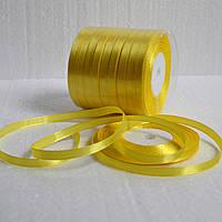 Лента атласная 7 мм (желтый)