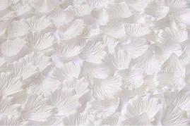 Искусственные свадебные белые лепестки роз (150 шт.)