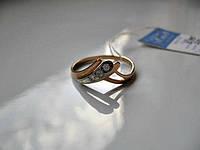 Кольцо-КОРОНА Золото 585 пробы 2.17 грамма 19.5 размер , фото 1