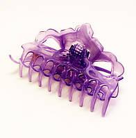 Заколка для волос крабик пластик-12 шт.- 10,5 см.