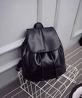Модный черный рюкзак код 3-221