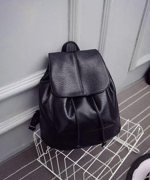 """Модный черный рюкзак код 3-221 - Интернет-магазин """"Family Style"""" Одежда, обувь, аксессуары для всей семьи в Харькове"""