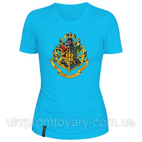 Женская футболка - Хогвартс, отличный подарок купить со скидкой, недорого, фото 2