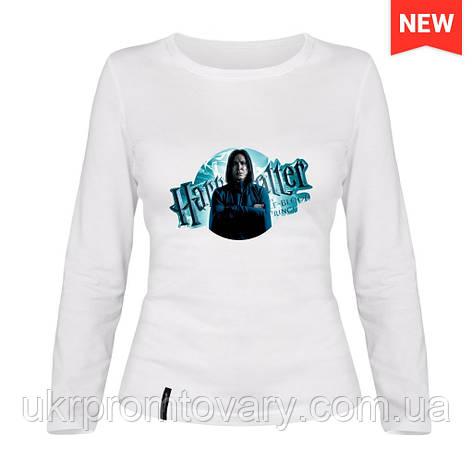Лонгслив женский - Гарри Поттер, отличный подарок купить со скидкой, недорого, фото 2