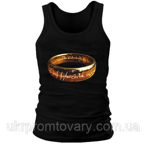 Майка мужская (хлопок) - Ring, отличный подарок купить со скидкой, недорого, фото 2