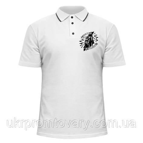 Мужская футболка Поло - Tolkien, отличный подарок купить со скидкой, недорого, фото 2