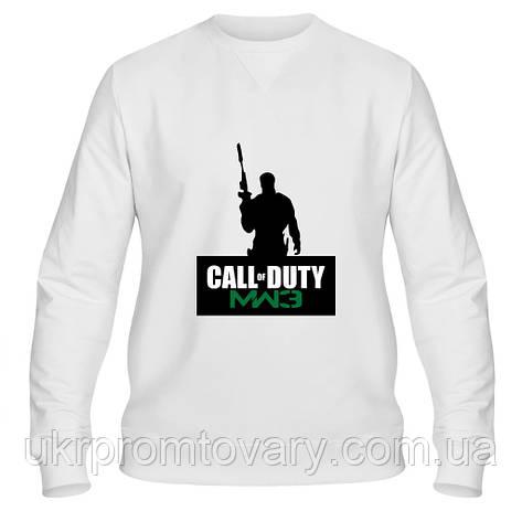 Свитшот мужской - Call of duty, отличный подарок купить со скидкой, недорого, фото 2