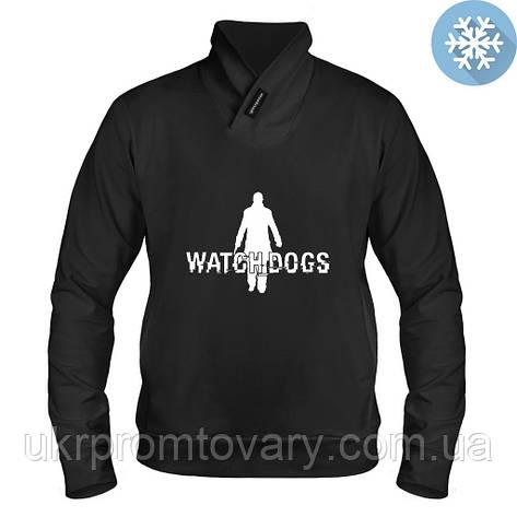 Толстовка утепленная - Watch dogs, отличный подарок купить со скидкой, недорого, фото 2