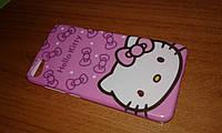 Чехол на кладка Meizu U10 Hello Kitty Бампер силиконовый