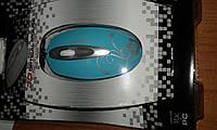 Мышь компьютерная стильная Crown CMM-52 с узором цветами
