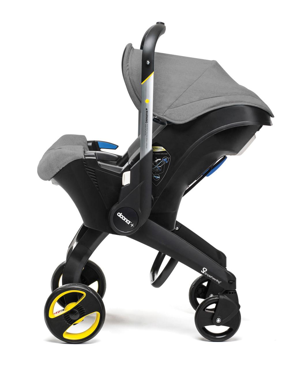 Doona - Детское автокресло-коляска, цвет серый