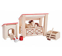 """Деревянная игрушка """"Хлев"""", Plan Toys"""