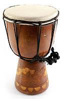 Барабан дерево с кожей