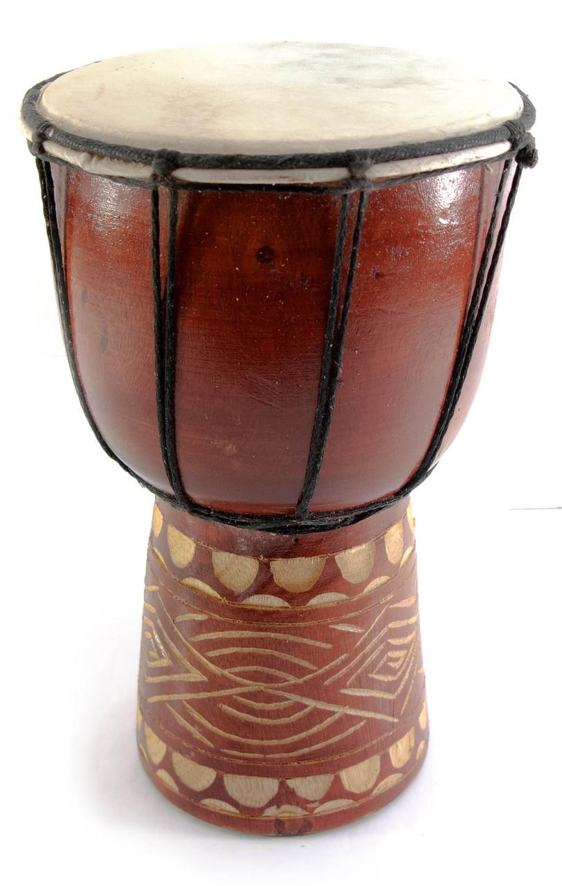 Барабан деревянный в подарок