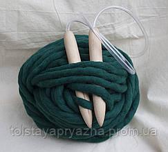 Спицы для вязания толстой пряжи 20 мм