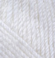 Пряжа Харизма ( Charisma) YarnArt 100 гр., 200 м, біла № 501