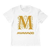 Футболка детская - M mamamoo, отличный подарок купить со скидкой, недорого