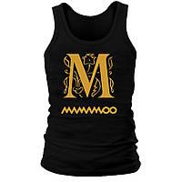 Майка мужская (хлопок) - M mamamoo, отличный подарок купить со скидкой, недорого