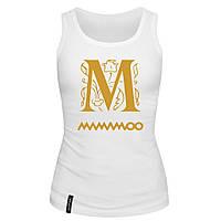 Майка женская (хлопок) - M mamamoo, отличный подарок купить со скидкой, недорого