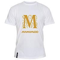Мужская футболка - M mamamoo, отличный подарок купить со скидкой, недорого