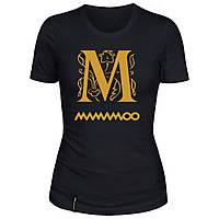 Женская футболка - M mamamoo, отличный подарок купить со скидкой, недорого