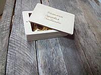 Деревянный футляр для упаковки (120*70*36мм), фото 1