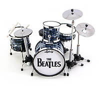 Подарочная барабанная установка Beatles миниатюра