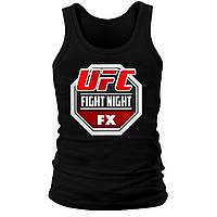 Майка мужская (хлопок) - UFC Fight Night FX, отличный подарок купить со скидкой, недорого