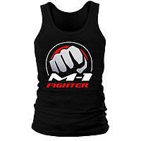 Майка мужская (хлопок) - M1 Fighter, отличный подарок купить со скидкой, недорого