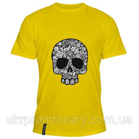 Мужская футболка - Черепушка, отличный подарок купить со скидкой, недорого, фото 2