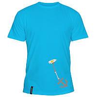 Мужская футболка - Якорь цветов, отличный подарок купить со скидкой, недорого