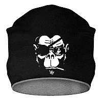 Шапка - Пиратская обезьяна, отличный подарок купить со скидкой, недорого