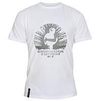 Мужская футболка - Серебро, отличный подарок купить со скидкой, недорого