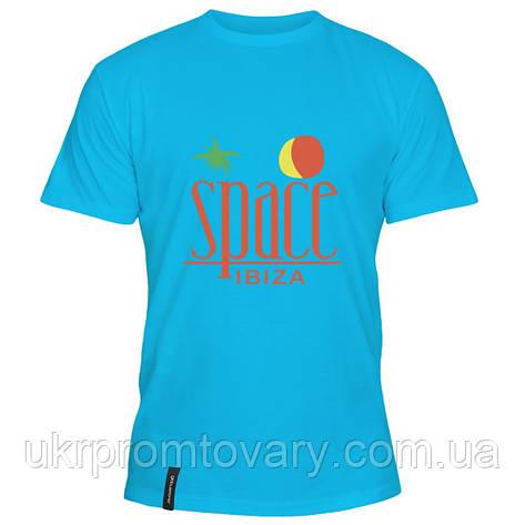 Мужская футболка - Space Ibiza, отличный подарок купить со скидкой, недорого, фото 2