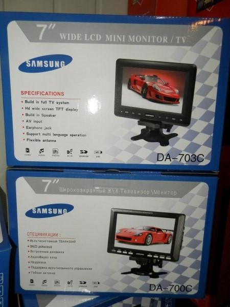 "Телевизор LCD 7.5""  USB  ДУ   DA-700,703C"