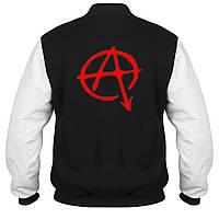 Куртка - бомбер - Anarchy, отличный подарок купить со скидкой, недорого