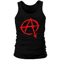Майка мужская (хлопок) - Anarchy, отличный подарок купить со скидкой, недорого