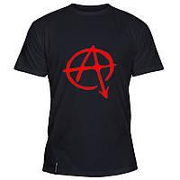 Мужская футболка - Anarchy, отличный подарок купить со скидкой, недорого
