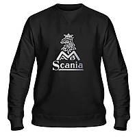 Свитшот мужской - Scania, отличный подарок купить со скидкой, недорого