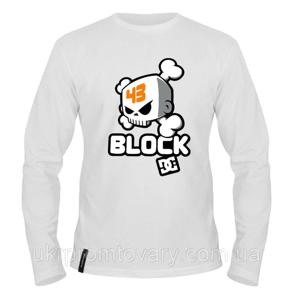 Лонгслив мужской - Ken Block 43, отличный подарок купить со скидкой, недорого