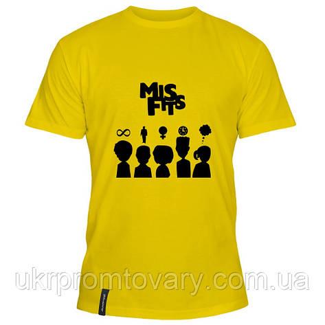 Мужская футболка - misfits, отличный подарок купить со скидкой, недорого, фото 2