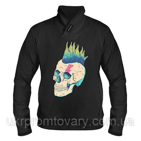 Толстовка - Панк череп, отличный подарок купить со скидкой, недорого, фото 2