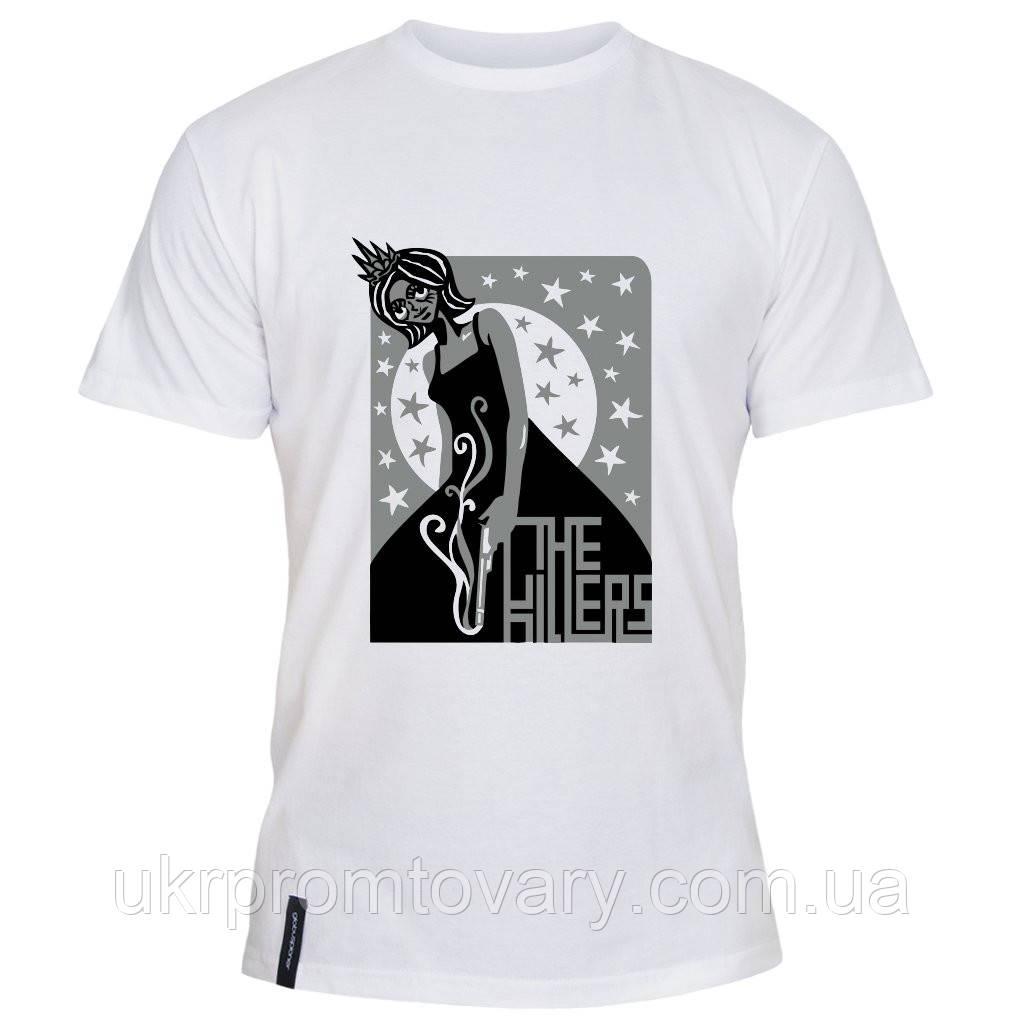 Мужская футболка - The Killers girl, отличный подарок купить со скидкой, недорого
