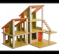 """Деревянная игрушка """"Кукольный домик Шале"""", Plan Toys, фото 1"""