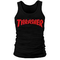 Майка мужская (хлопок) - Thrasher, отличный подарок купить со скидкой, недорого