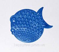 """Мини-коврик серии """"ОРТО"""" для профилактики плоскостопия """"Рыбка"""" (синяя яркая), фото 1"""