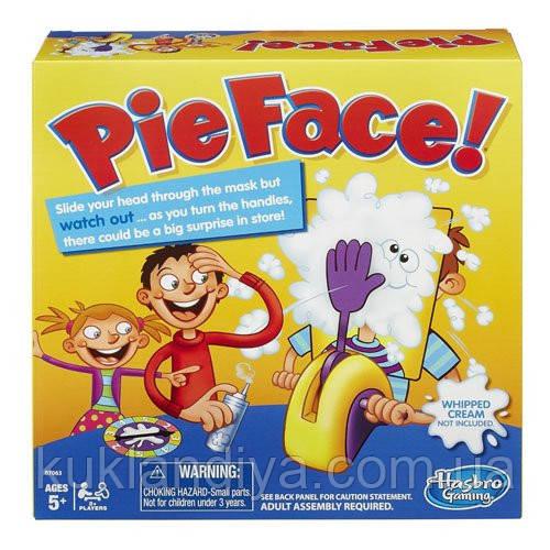 Игра Hasbro Pie Face Game Лицом в Пирог
