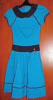Платье женское 42 размер, голубое